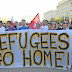 Manifestación en Polonia en contra de la entrada de refugiados al país