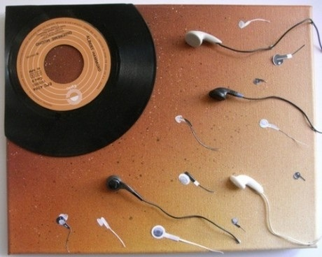 The birth of music. CUIDADO con los HUEVOS
