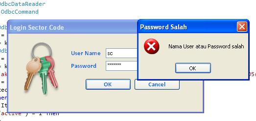Form Login dengan Database MySQL