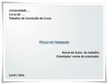 Modelo De Slides Para Apresentação De Tcc