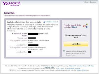 Cara Membuat Email Ymail Next