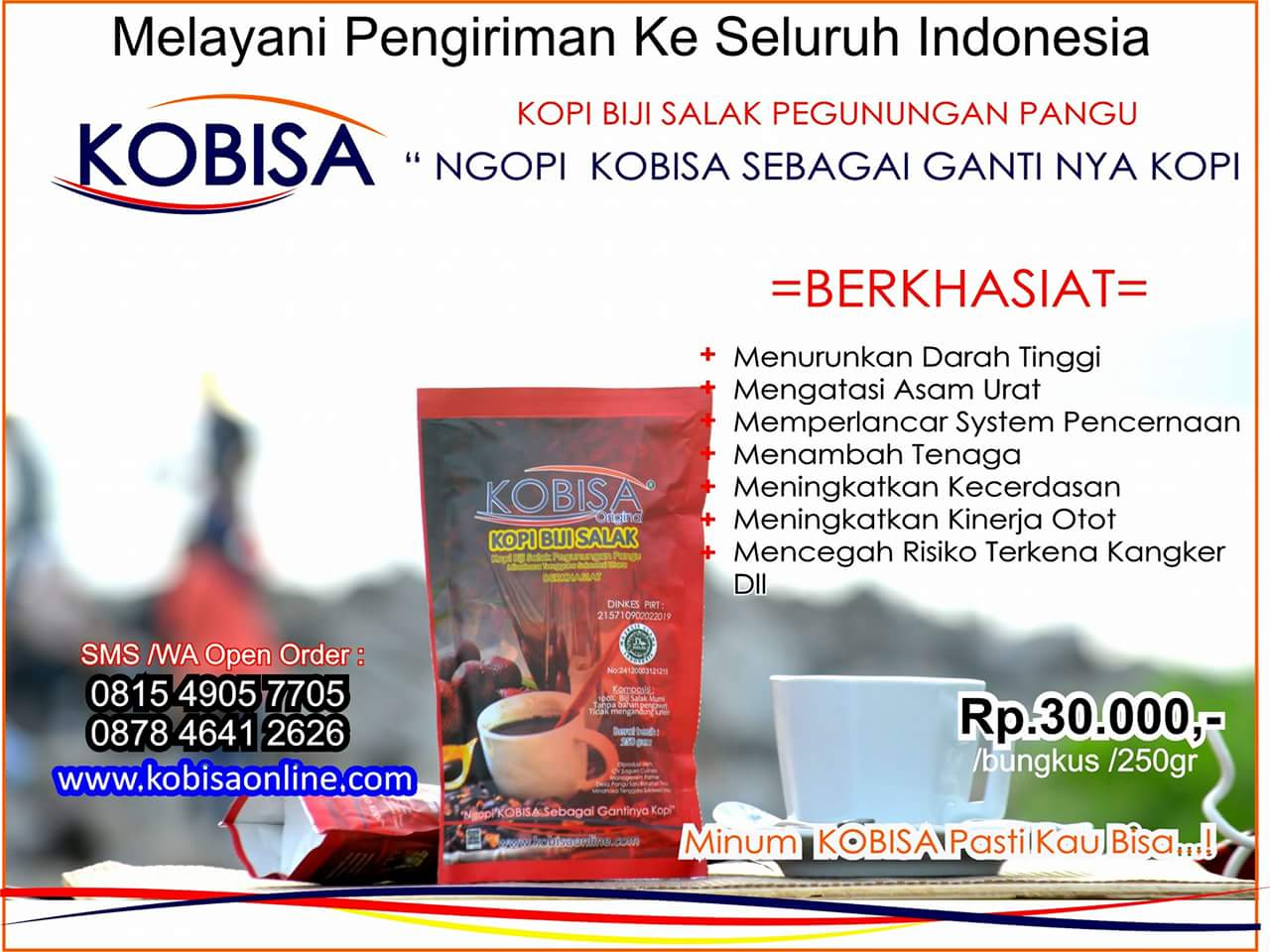 KOPI BIJI SALAK 250 gr Pouch Full Colour