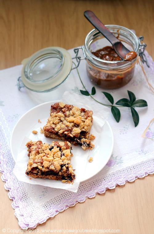 kruszonkowa krajanka karmelowo-orzechowo-czekoladowa