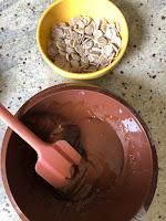 Pétales d'épeautre à mettre dans le chocolat fondu