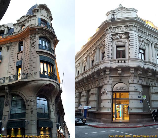 Fachadas ecléticas | Ciudad Vieja | Montevideo