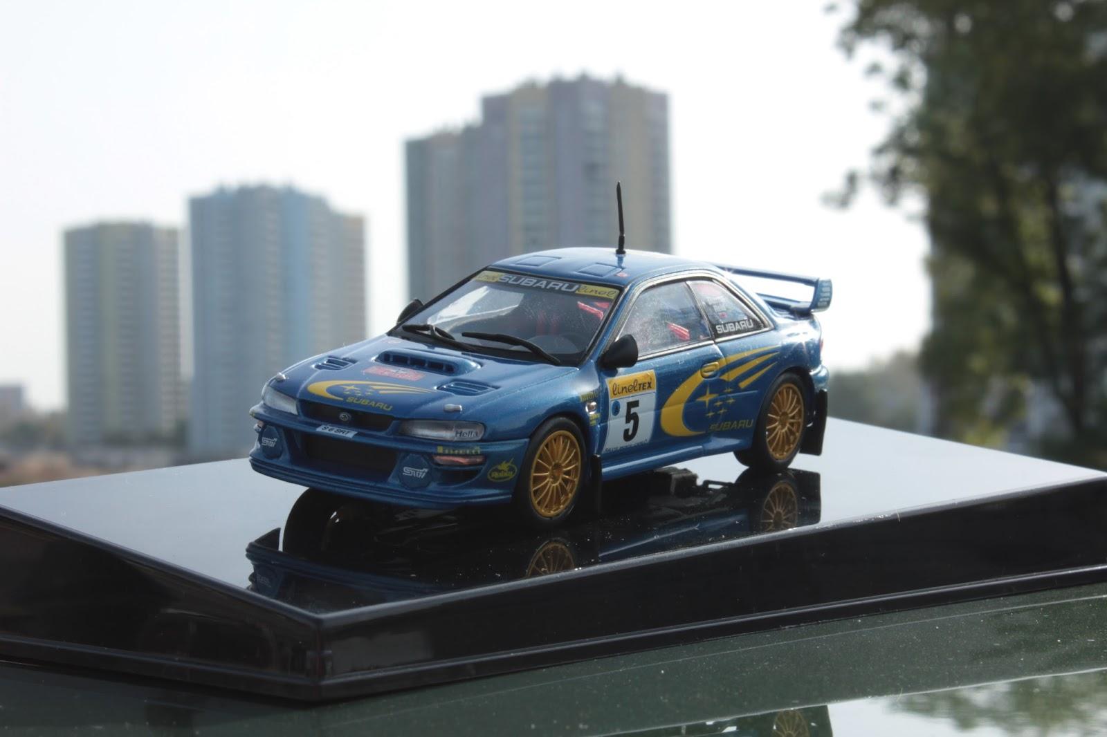 AUTOart Subaru Impreza 22b WRC
