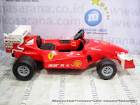 Junior ME1506F Scuderia Ferrari Rechargeable-battery Operated Toy Car