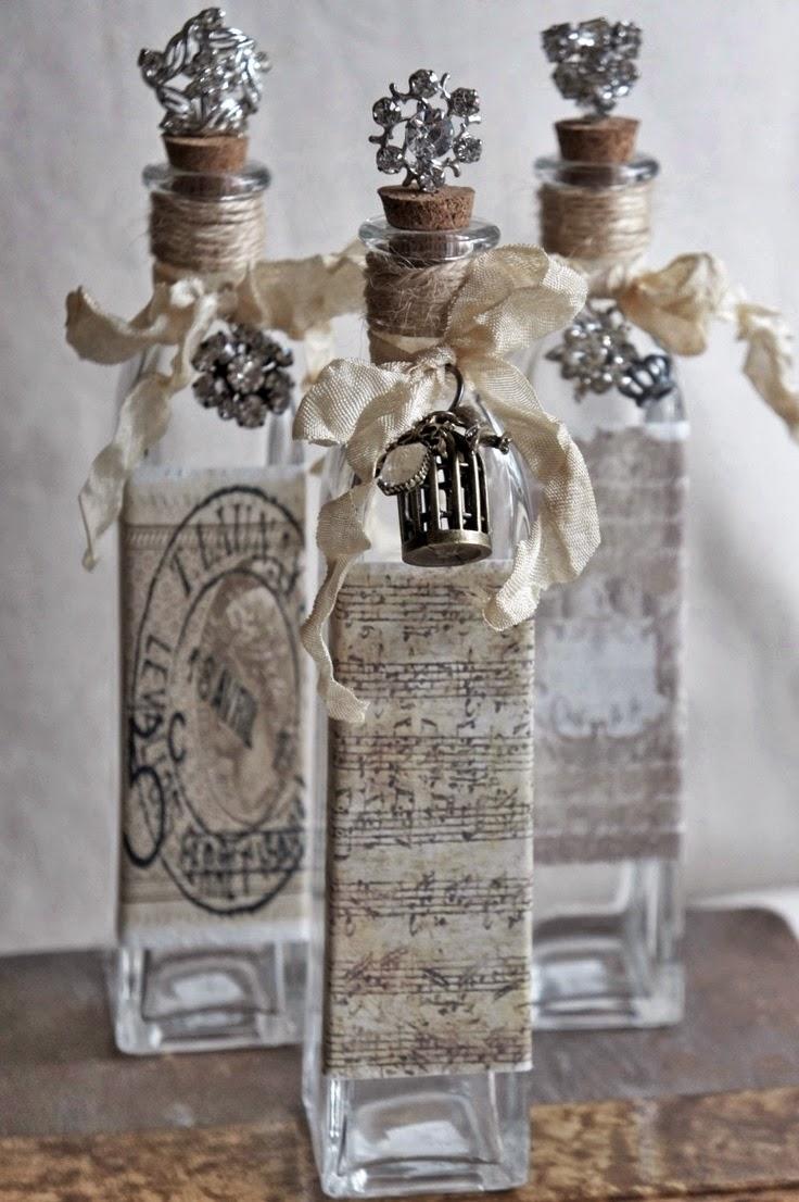 artystyczne butelki