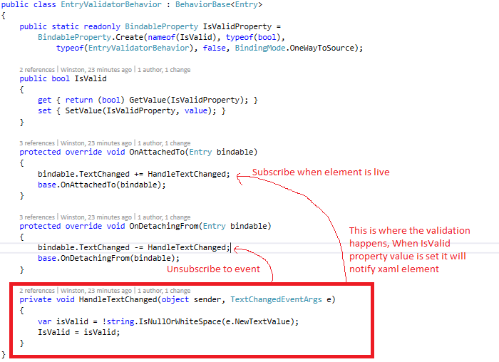 Xamarin Forms Made Easy: Xamarin Forms Validation the easy way