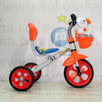 Sepeda Roda Tiga BMX Family F339A Bird Orange