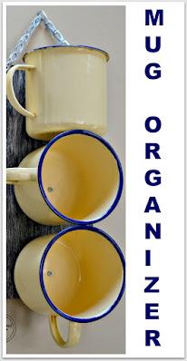 Mug organizer pinterest pin