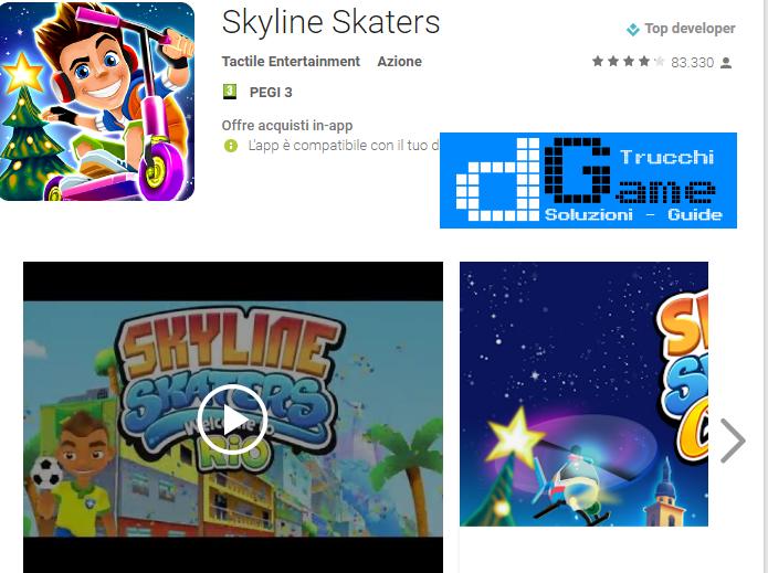 Trucchi Skyline Skaters Mod Apk Android v2.15.0