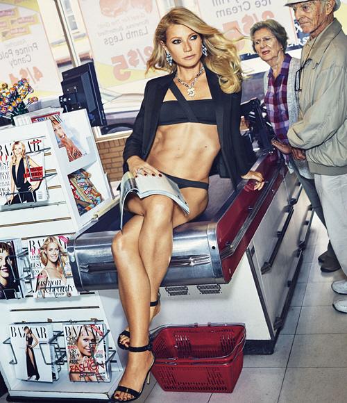 Gwyneth Paltrow, Harper's Bazaar 6