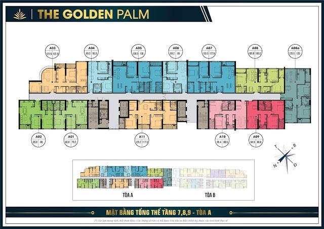 Chung cư Golden Palm - Nơi hạnh phúc đong đầy