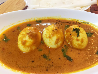 south indian egg recipes kerala mutta curry roast egg roast curry