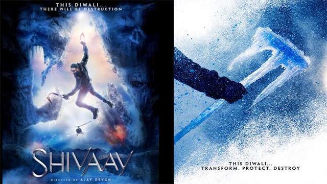 Shivaay , Shivaay Movie , Shivaay Poster, Shivaay Ajay Devgan