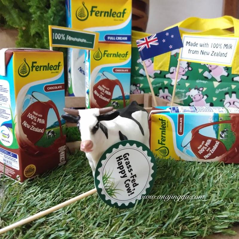 FERNLEAF UHT 100% Kebaikan Susu Yang Dipercayai