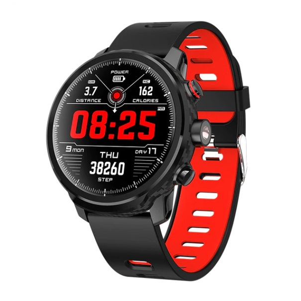 Microwear L5 Smart Watch Waterproof Men Smart Watch Bluetooth Android Wristband Call Reminder