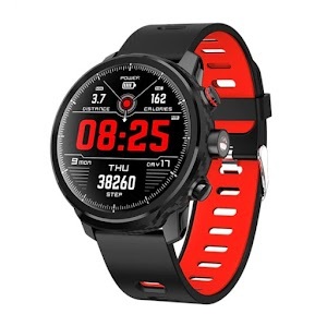 Smart Watch Waterproof Bluetooth Android Wristband Call Reminder Heart Rate Pedometer