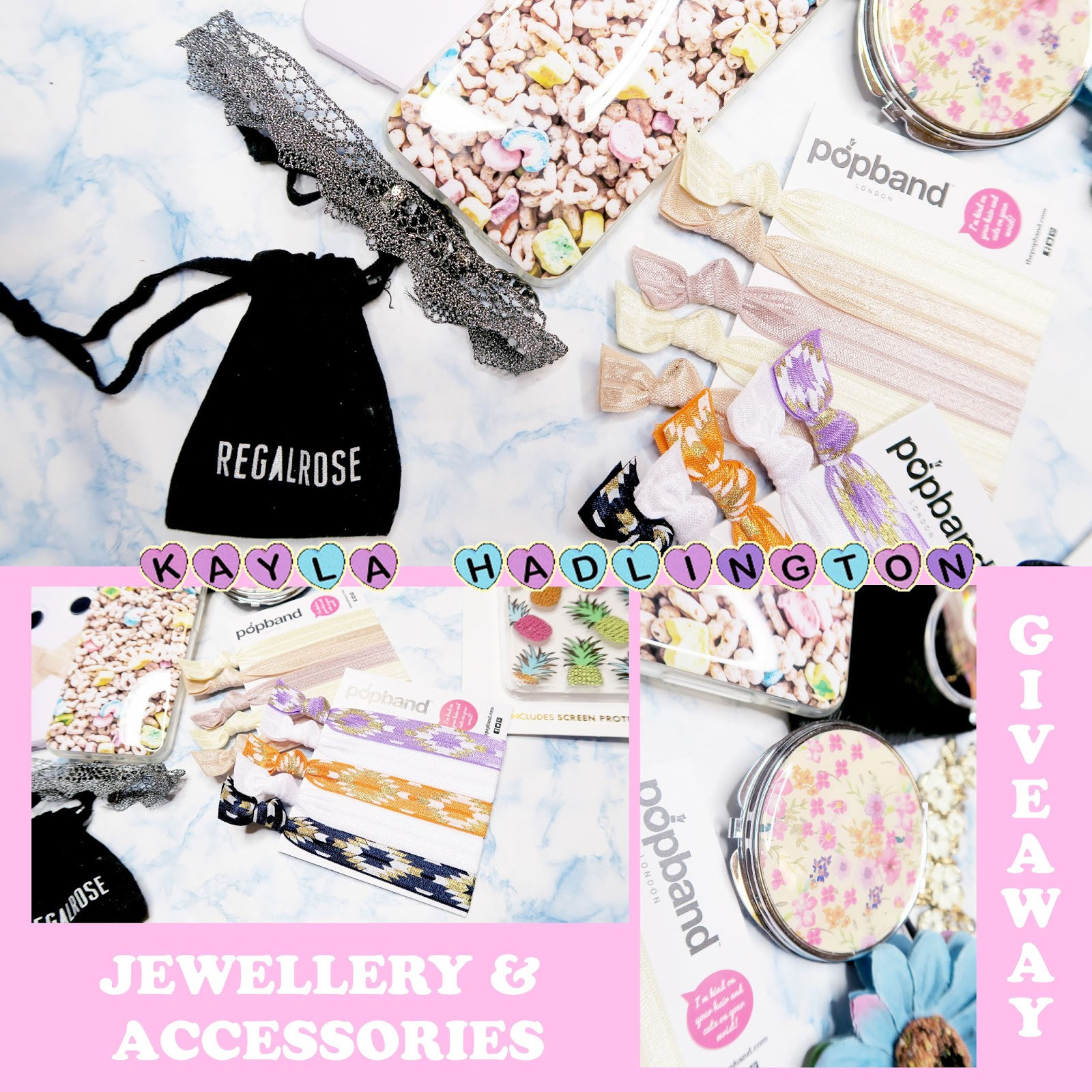 JEWELLERY & ACCESSORIES GIVEAWAY #KaylaHadlingtonRELAUNCH
