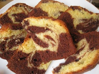 Kazuo Schokoladen Orangen Marmorkuchen