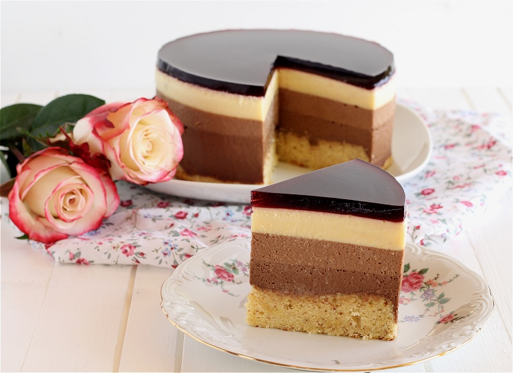 Triple Schokoladentorte mit Johannisbeerkick 2
