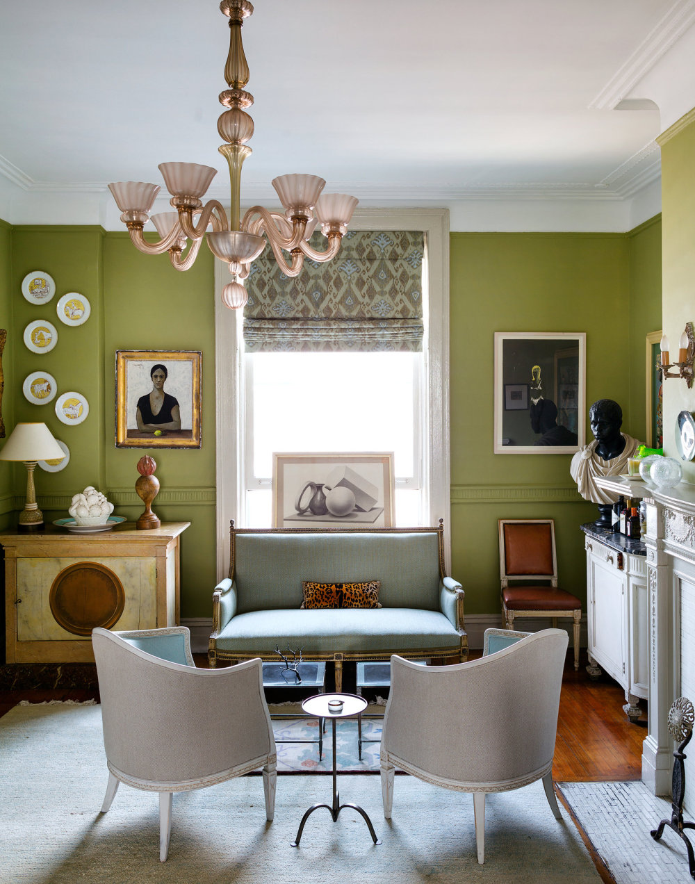 Decor inspiration  At Home With Sheila Bridges Harlem  Cool Chic Style Fashion