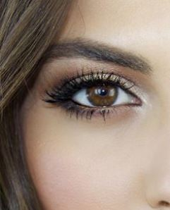 dramatic eye makeup for brown eyes  natural makeup tutorial