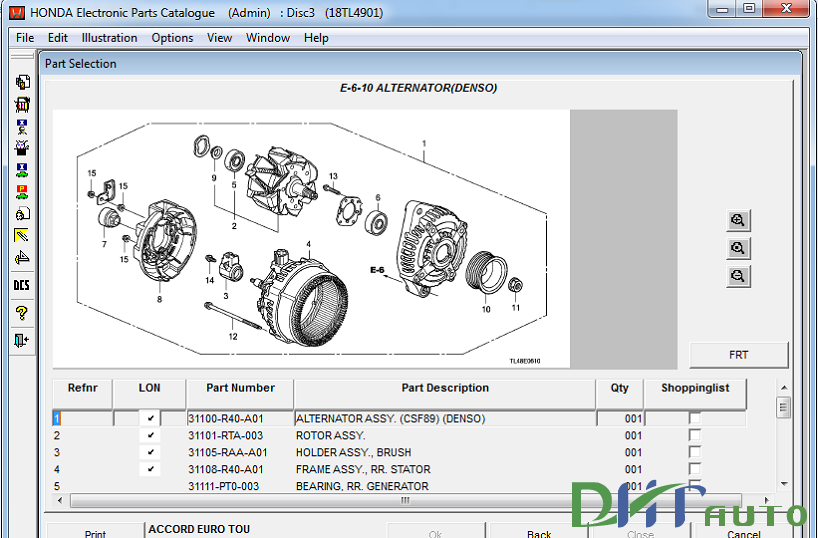 Honda electronic parts catalogue download