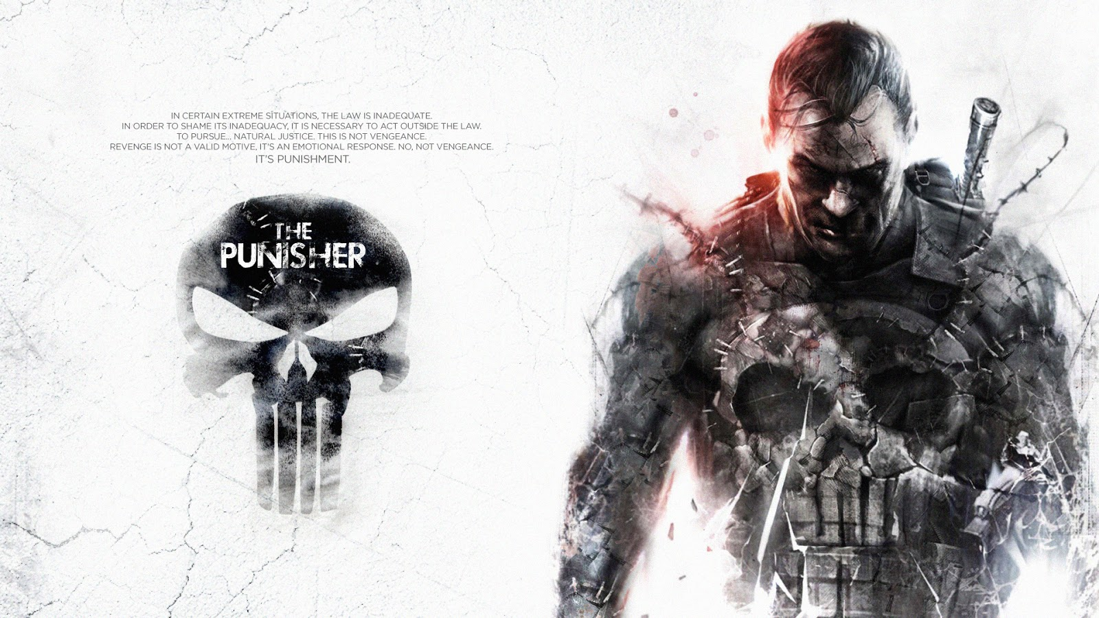 World Wildness Web: The Punisher Wallpapers