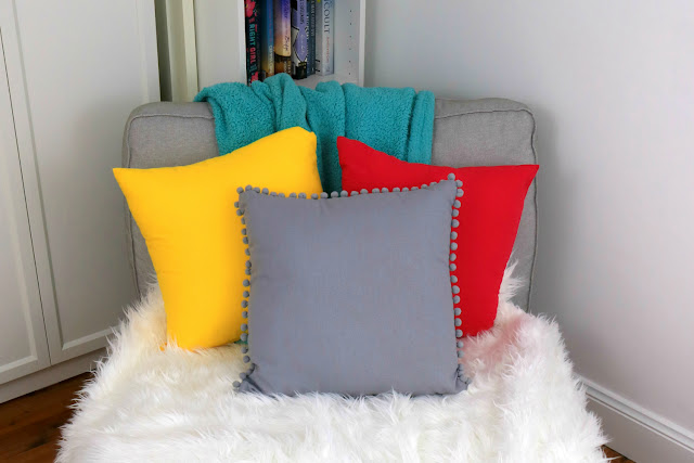 How to Make a DIY Statement Pillow on a Budget - Pillow Hack Tutorial