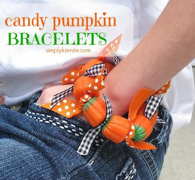 http://simplykierste.com/2010/09/candy-pumpkin-bracelets.html