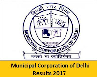 Municipal Corporation of Delhi Results 2017