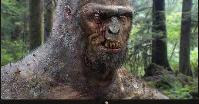 Bigfoot facial expression video — 7