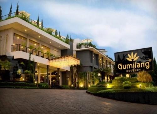 Hotel dekat lokasi wisata kampung gajah lembang