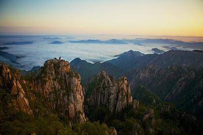 Montanhas-Huang-Huangshan-China