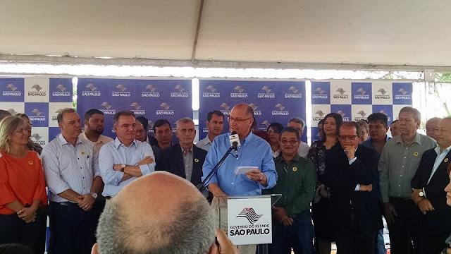 """Alckmin inicia obras das Clínicas """"Saúde em Ação"""" em Registro-SP"""