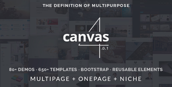 DOWNLOAD Canvas | The Multi-Purpose HTML5 Template