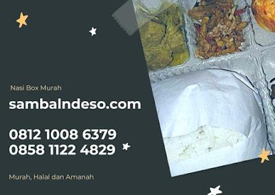 pesan Paket Nasi Box Murah Tangerang