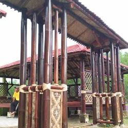 gambar gapura dari bambu - rahman gambar