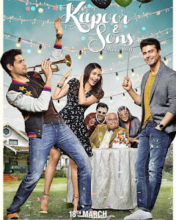 Complete cast and crew of Kapoor & Sons (2016) bollywood hindi movie wiki, poster, Trailer, music list - Siddharth Malhotra, Movie release date 18 March 2016