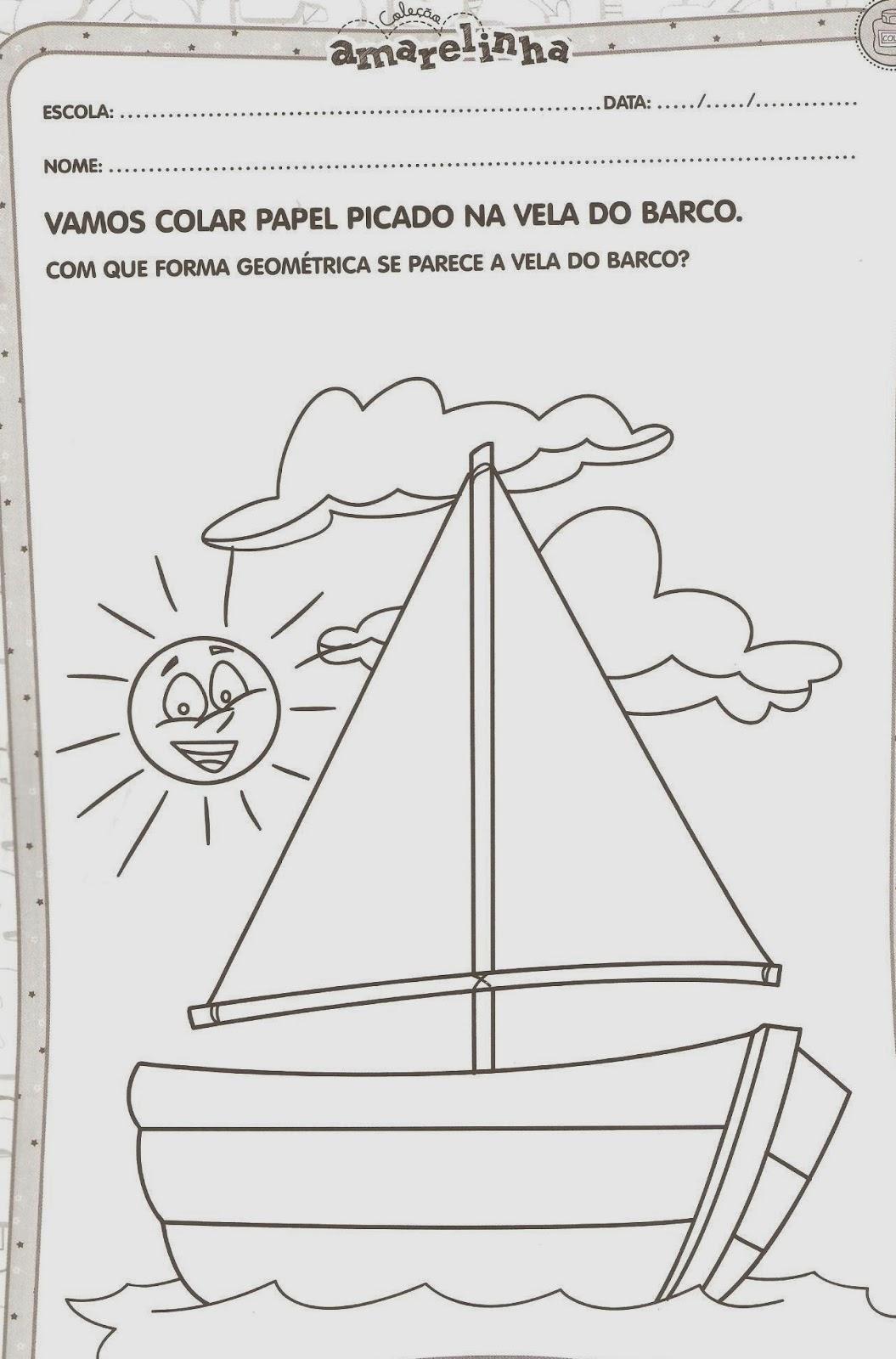 Canal Pedagogico Atividades Meios De Transportes