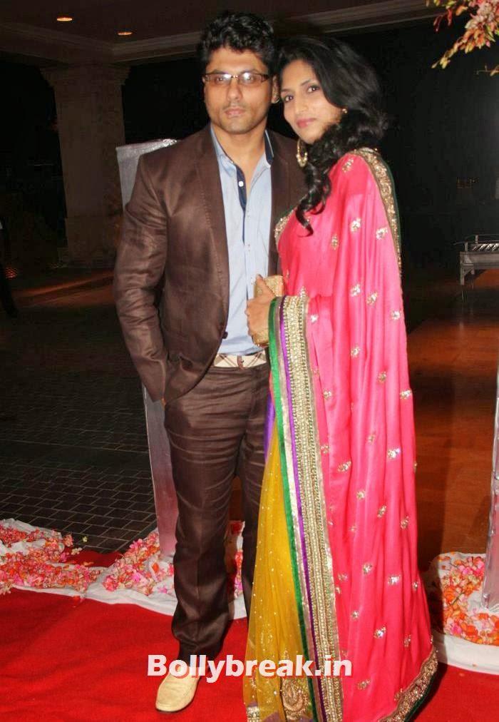 Riyaz Gangji, Reshma Gangji, Siddharth Kannan & Neha Agarwal Wedding Reception Pics