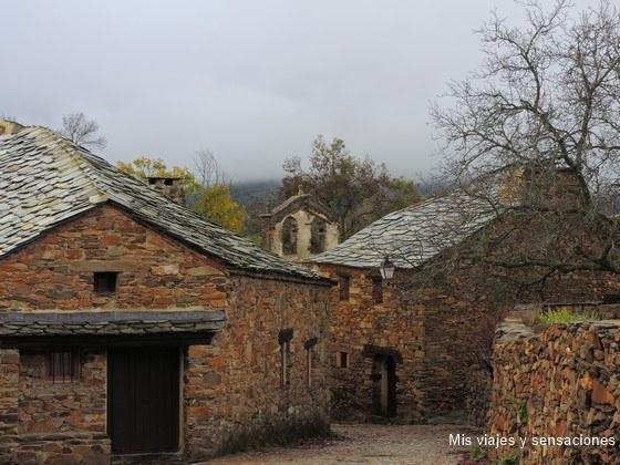 Umbralejo, uno de los pueblos de la arquitectura negra