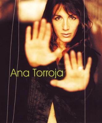 Foto de Ana Torroja en portada de disco