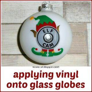 VinylOnGlass wesens-art.blogspot.com