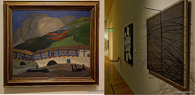Obras de Henrique Camino Brent e de Jesús Soto no Museu Nacional de Belas Artes de Buenos Aires