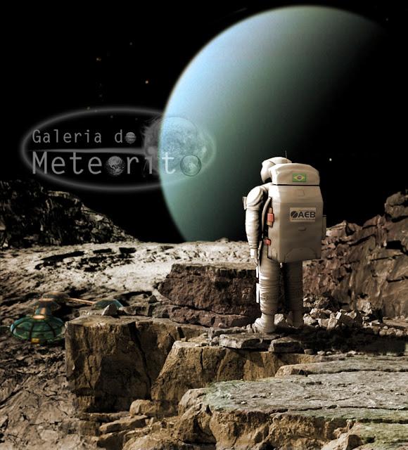 Miranda, lua de Urano - ilustração