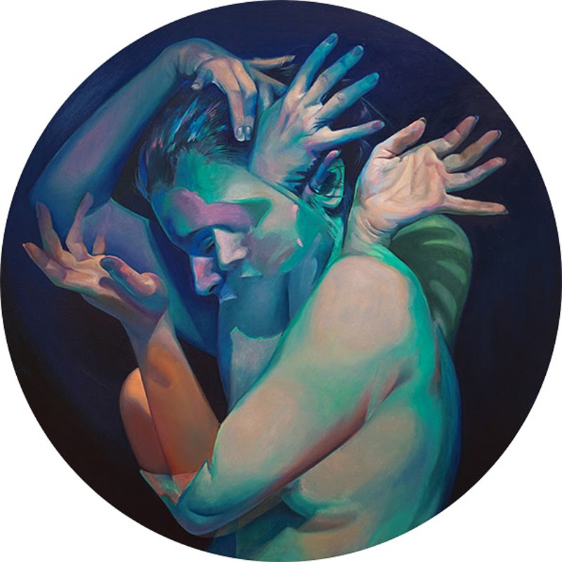 Paintings by Scott Hutchison.