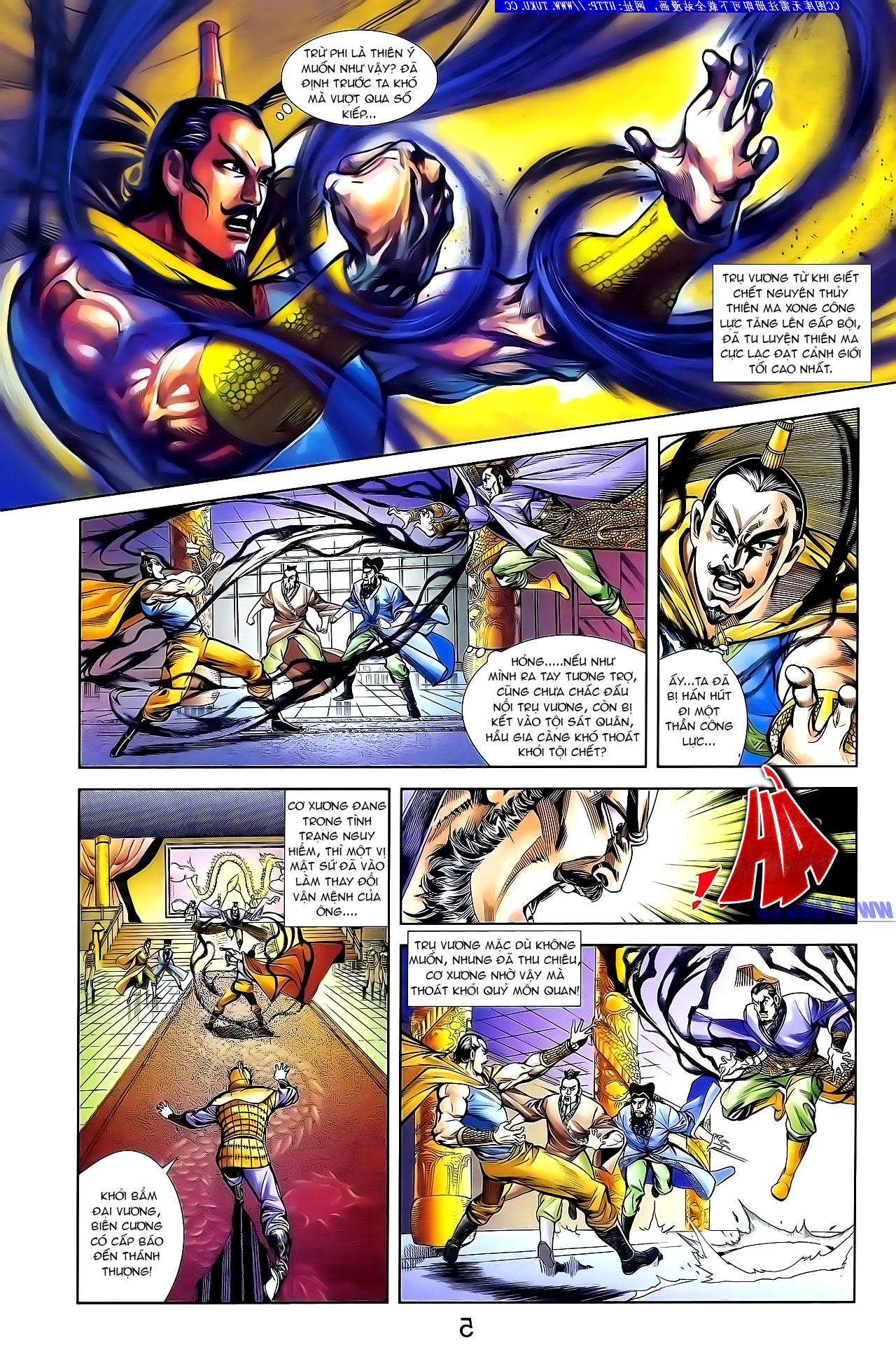 Cơ Phát Khai Chu Bản chapter 132 trang 13